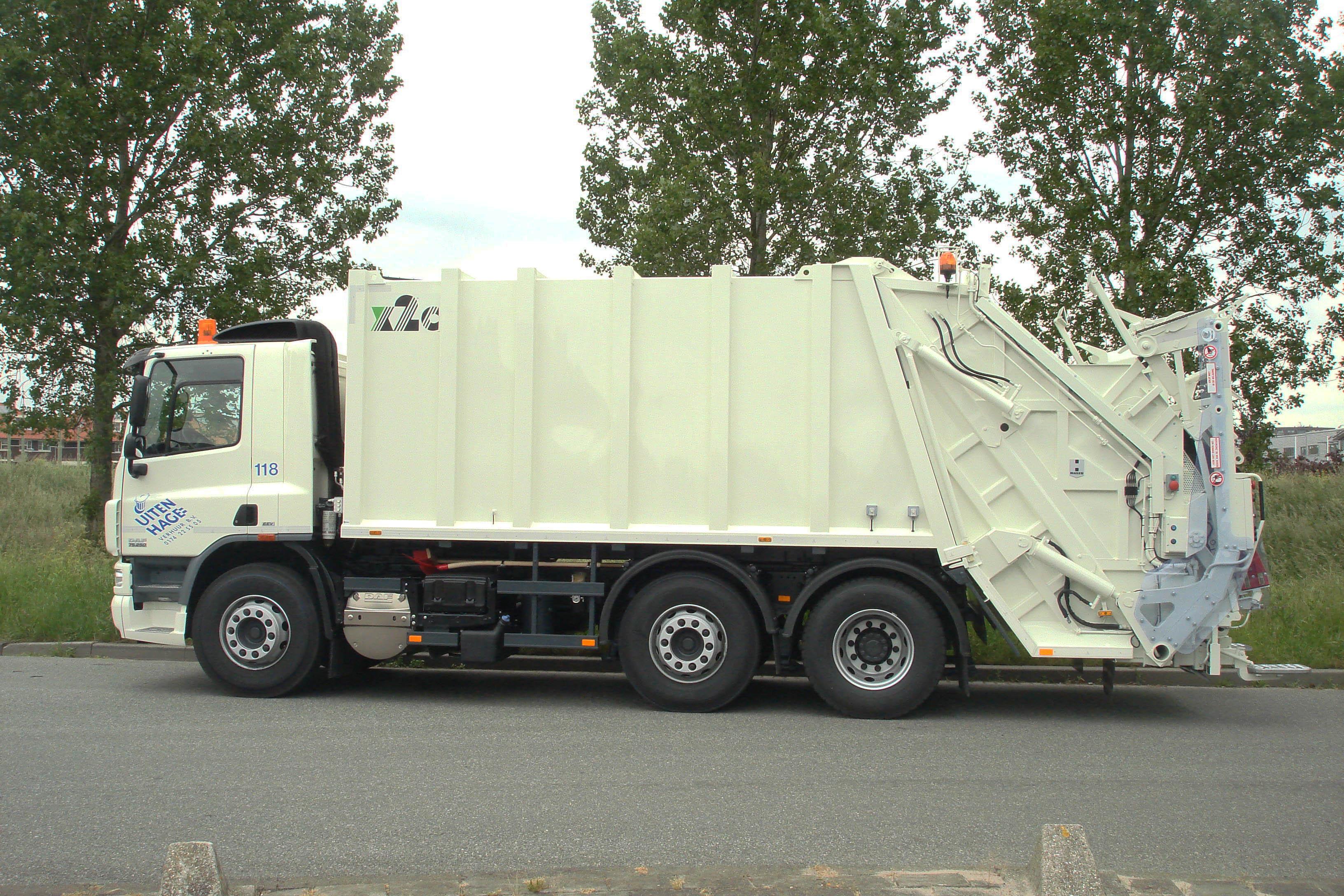 118 Vuilniswagen
