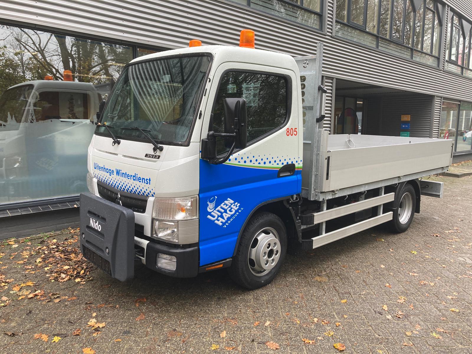 805 Veegvuilwagen open laadbak